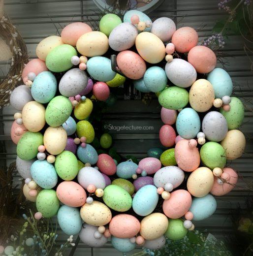 DIY Craft Idea: Playful Easter Wreath Ideas