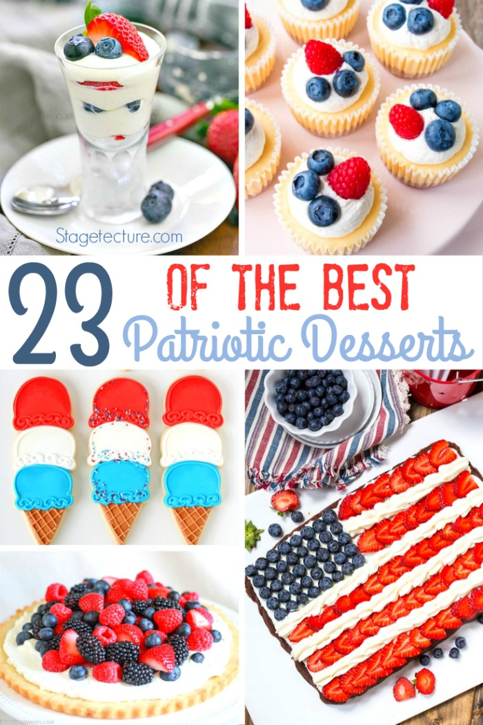 best patriotic desserts summer