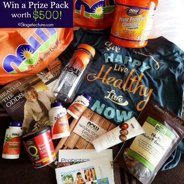 NOW Foods Prize Pack