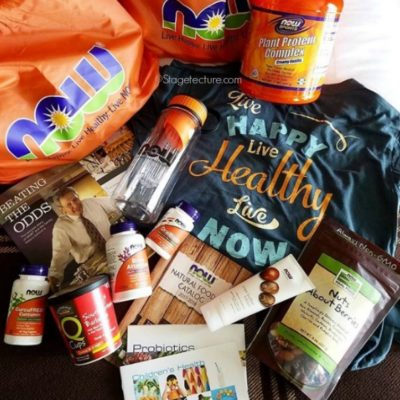 NOW Foods #Giveaway for YOU and My Healthy Living Experience