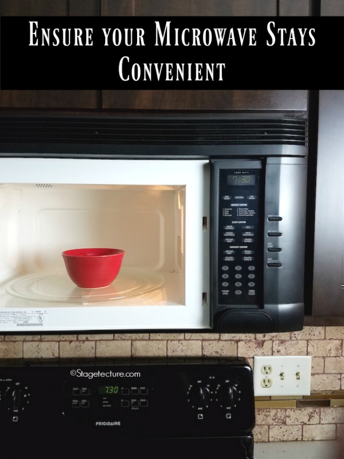 kitchen home maintenance microwave