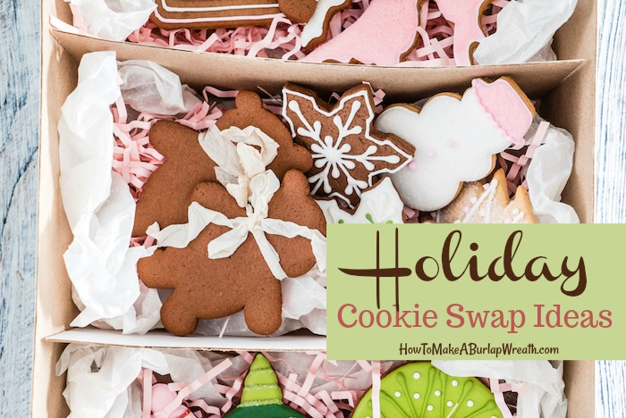 Christmas cookies swap