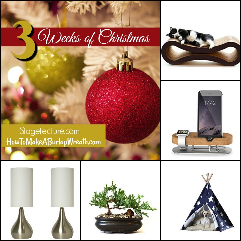 holiday gift guide stagetecture