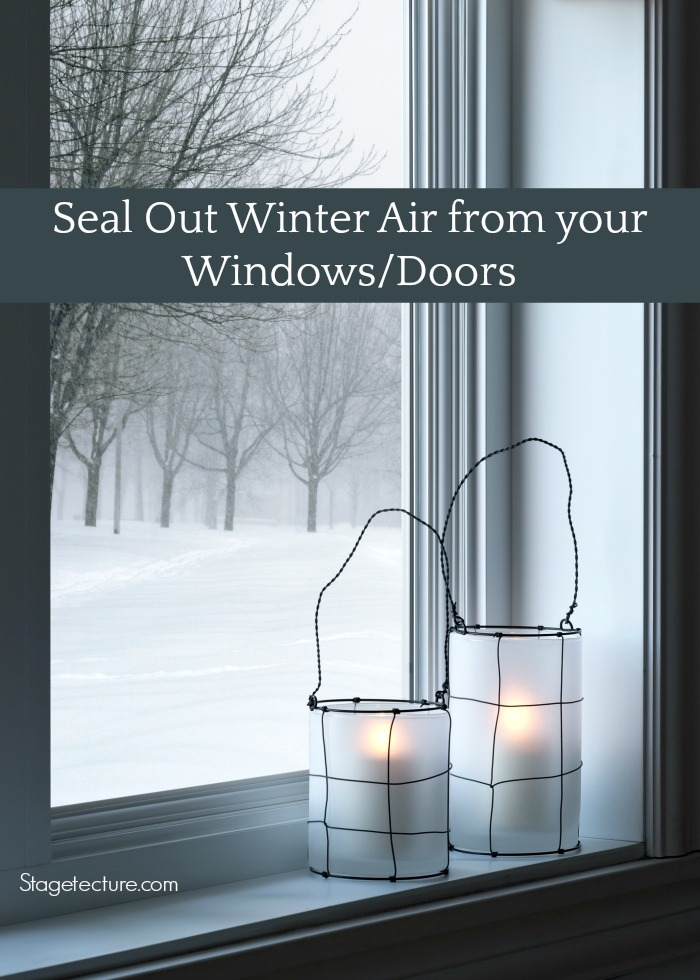 Winter heating costs windows doors