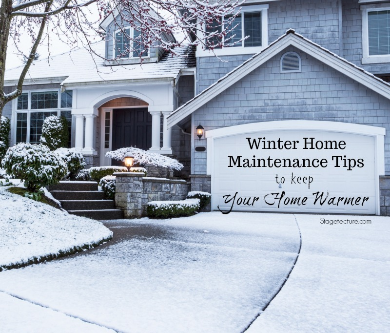 winter home maintenance snow