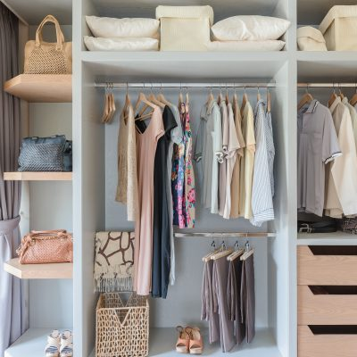 13 Ways to Organize Your Bedroom Closet