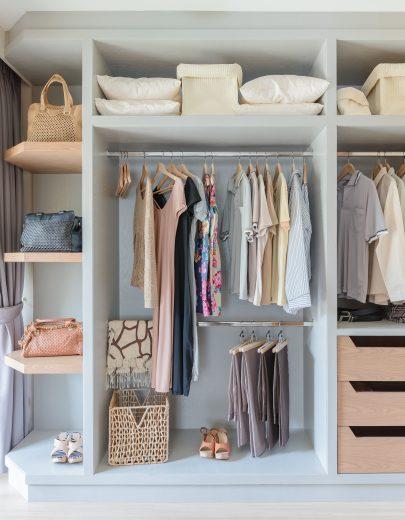 13 Ways to Organize Your Bedroom Closet