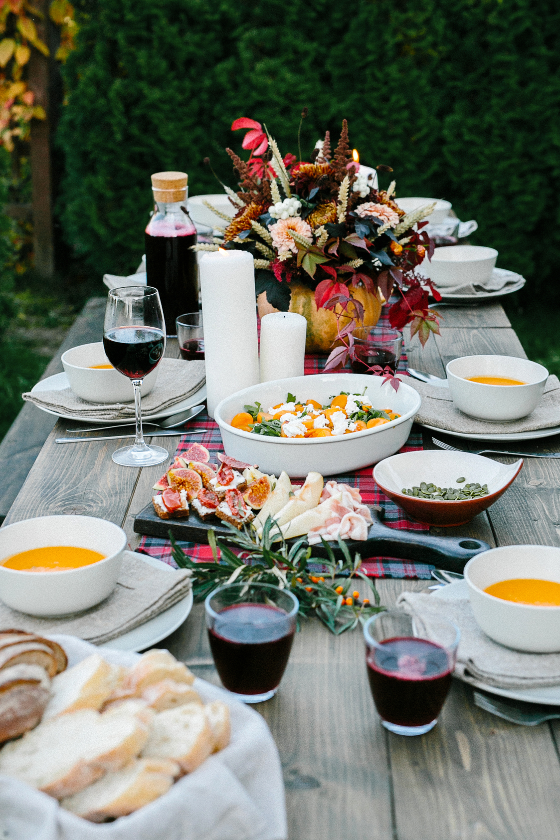 Fall Outdoor Entertaining