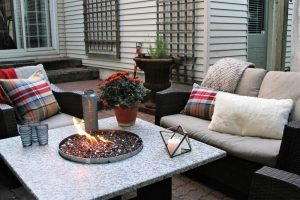Great Outdoor Seating for Fall