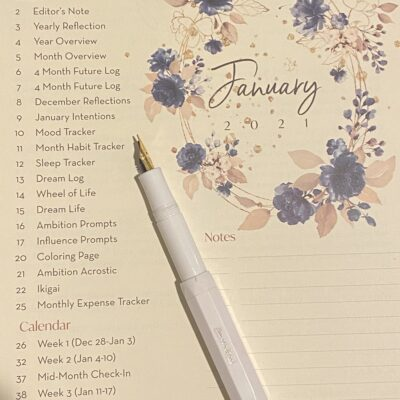 An Incredible Planner System That Stays Fresh All Year (Plus One of My Favorite Pens)